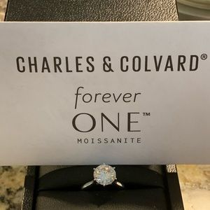 2 carat Forever One Ring